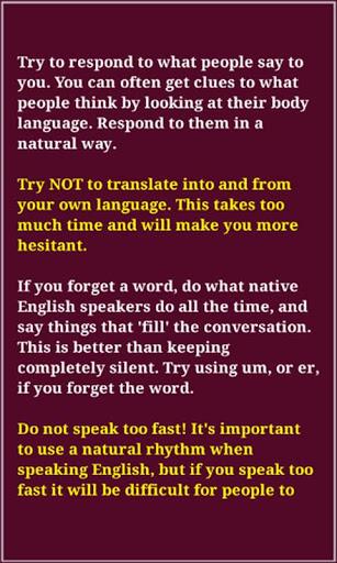 Speaking Skills 4 تصوير الشاشة