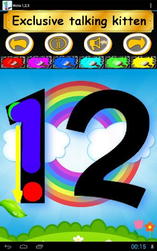 Write 123 - Learn Kids Numbers screenshot 18