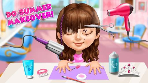 Sweet Baby Girl Summer Fun 2 - Sunny Makeover Game 5 تصوير الشاشة