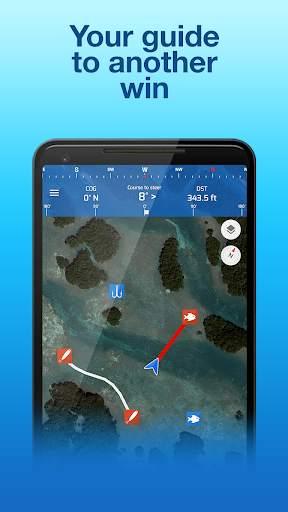Fishing Points: GPS, Tides & Fishing Forecast स्क्रीनशॉट 7