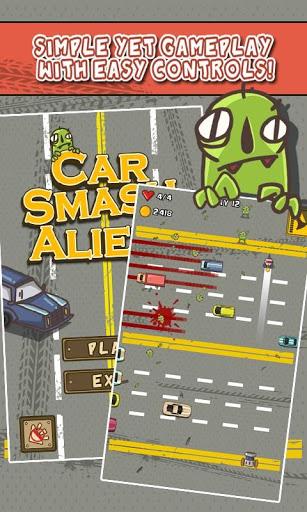 Car Smash Aliens 5 تصوير الشاشة