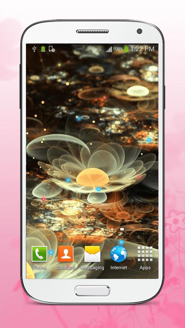 Luminous Flower Live Wallpaper screenshot 5
