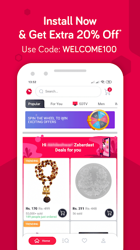 Snapdeal Online Shopping App - Shop Online India screenshot 2