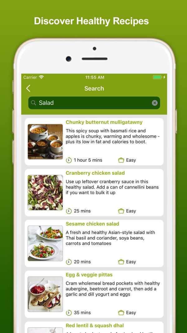 Healthy Eating Recipes screenshot 8