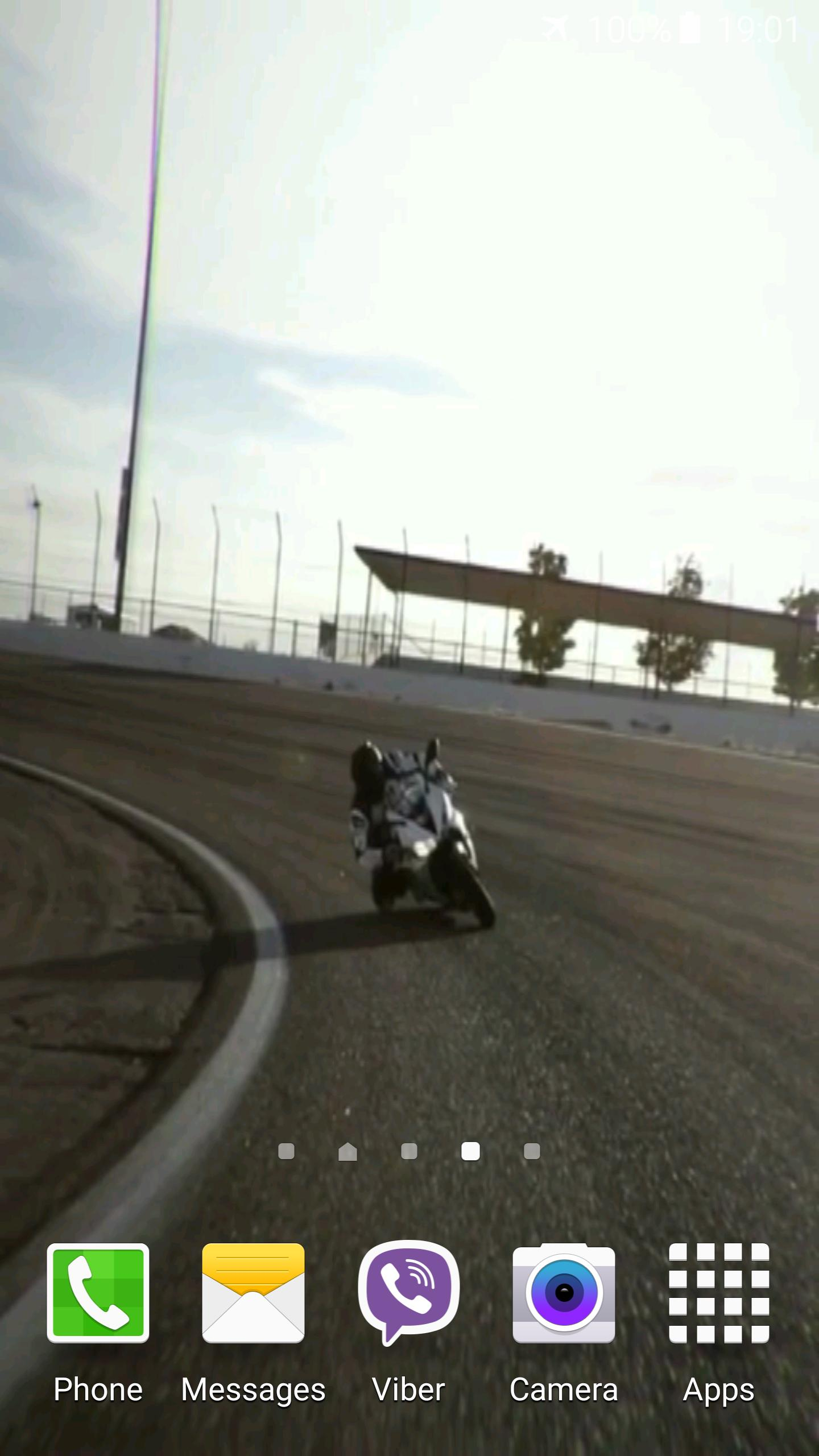Motorcycle Video Wallpaper 6 تصوير الشاشة