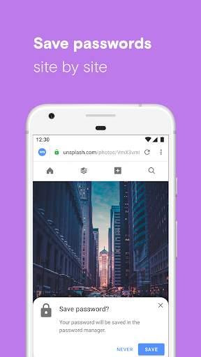 Opera browser with free VPN screenshot 5