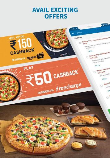 Domino's Pizza - Online Food Delivery App 3 تصوير الشاشة
