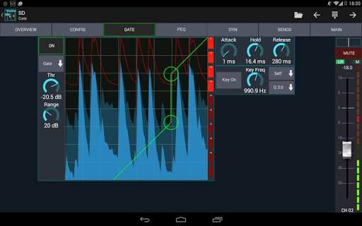 Mixing Station XM32 screenshot 16