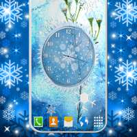 Winter Snow Clock Wallpaper ❄️ HD Live Wallpapers on 9Apps