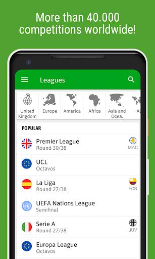 BeSoccer - Soccer Live Score screenshot 9