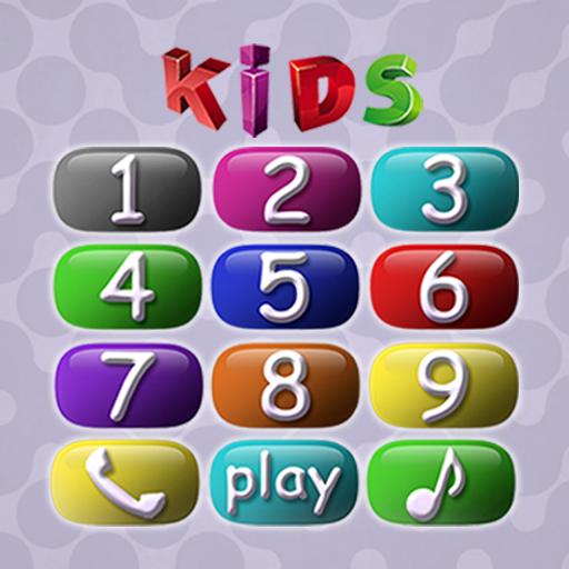 لعبة أطفال: الطفل الهاتف أيقونة