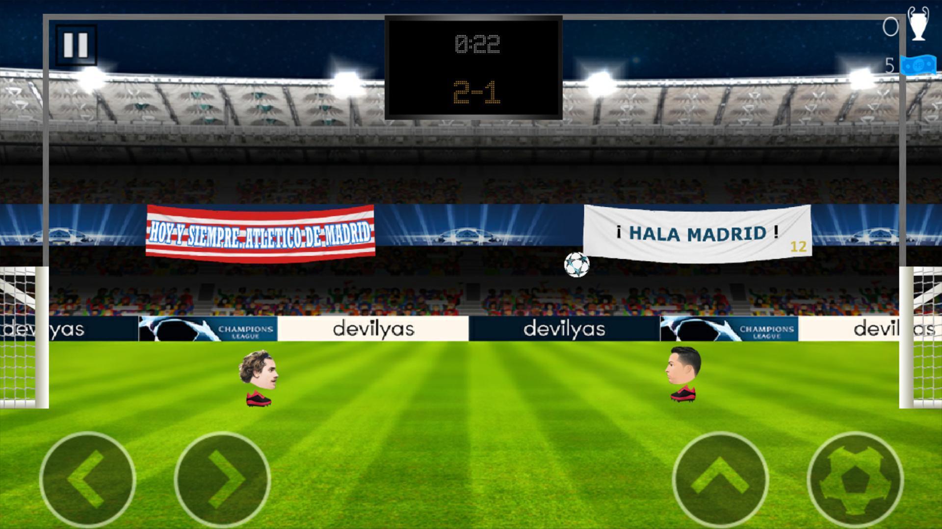 Head FootBall: Champions League 2018 1 تصوير الشاشة