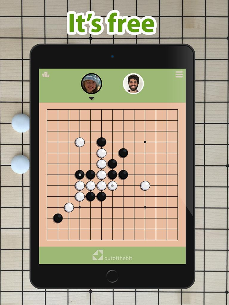 Five In a Row - Gomoku ー Classic Board Games screenshot 1