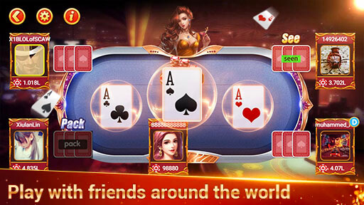 Classic Card Game- Play 3patti Online in Khelo screenshot 2