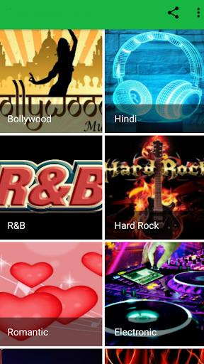 Free Music Radio Streaming Unlimited Music 1 تصوير الشاشة