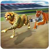 verrückt wild Tier Rennen on 9Apps