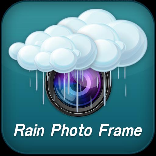 المطر إطارات الصور أيقونة