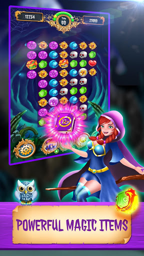 Magic Jewels: New Match 3 Games 4 تصوير الشاشة