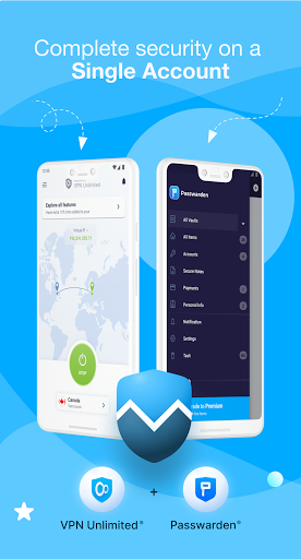 KeepSolid VPN Unlimited WiFi Proxy with DNS Shield screenshot 1