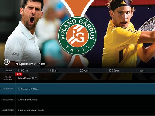 Tennis Channel 7 تصوير الشاشة