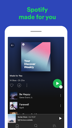 Spotify: Listen to new music and play podcasts screenshot 6