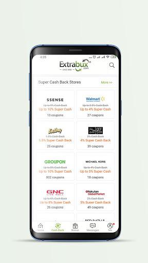 Extrabux - Deals & Cashback screenshot 2
