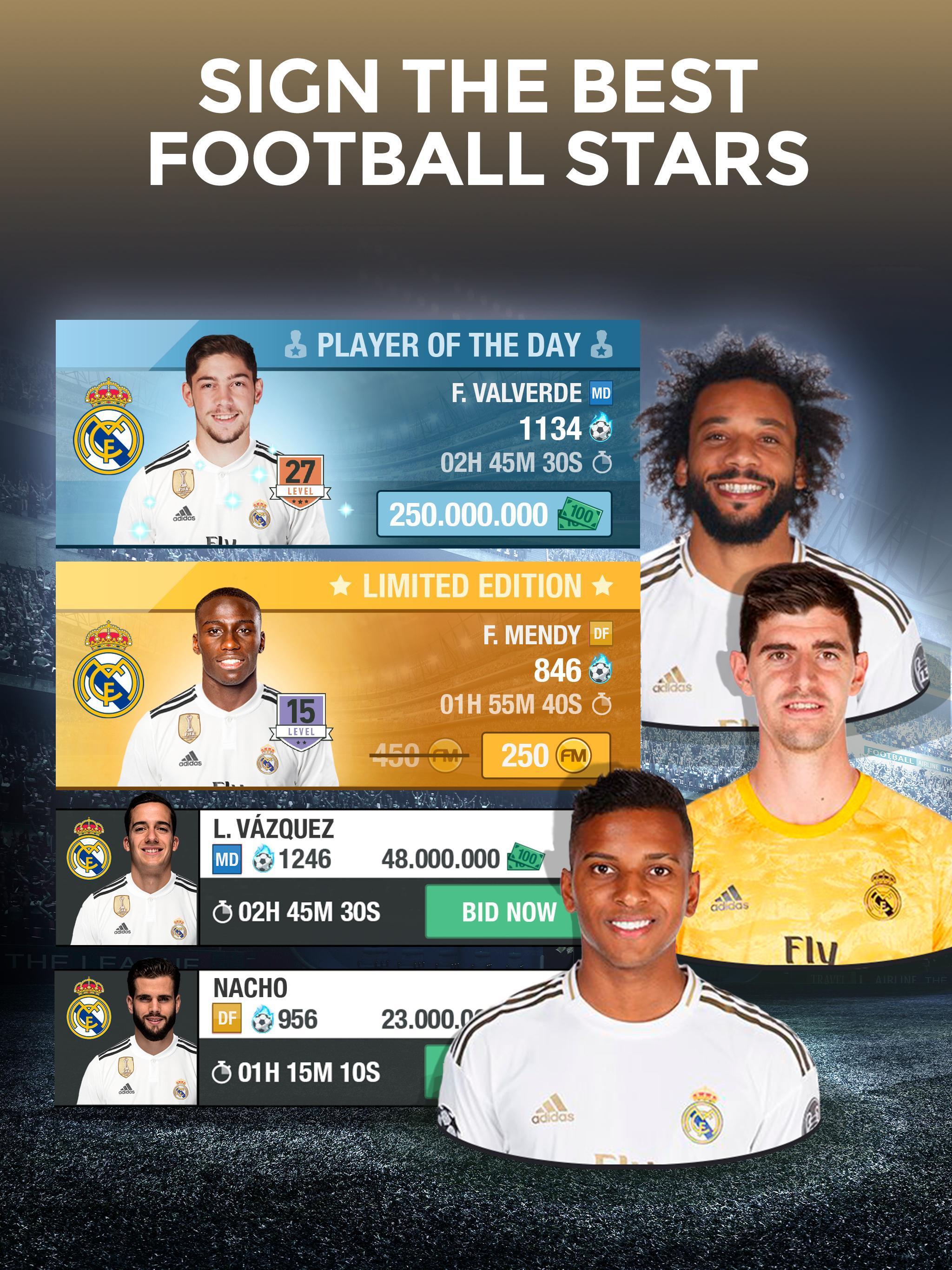 Real Madrid Fantasy Manager'20 Real football live screenshot 7
