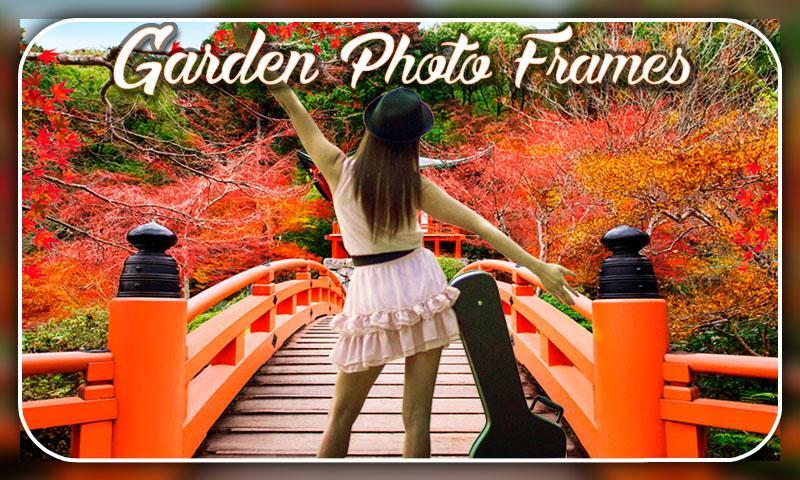 Garden Photo Frames Editor 2018 screenshot 2
