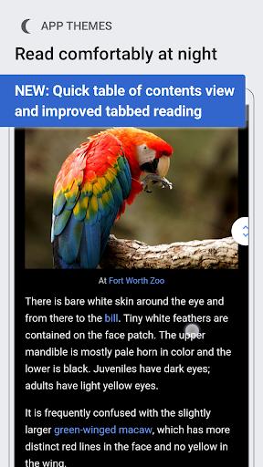 Wikipedia Beta screenshot 1