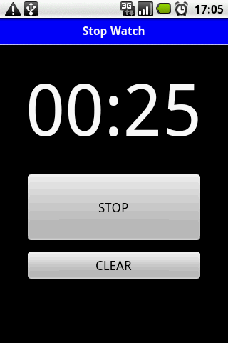 StopWatch Simple screenshot 2