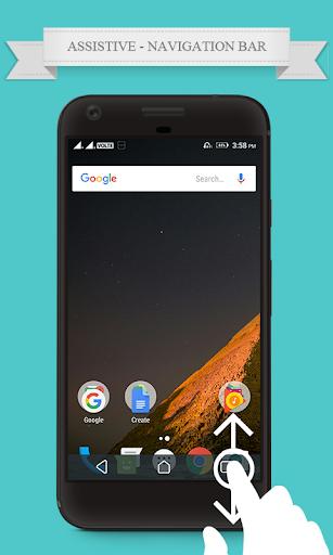 Navigation Bar for Android Assistive Control screenshot 1