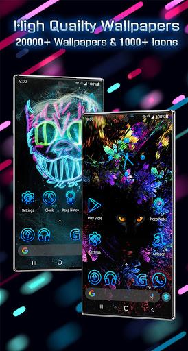 خلفيات 2021 وموضوعات لنظام Android ™ 4 تصوير الشاشة