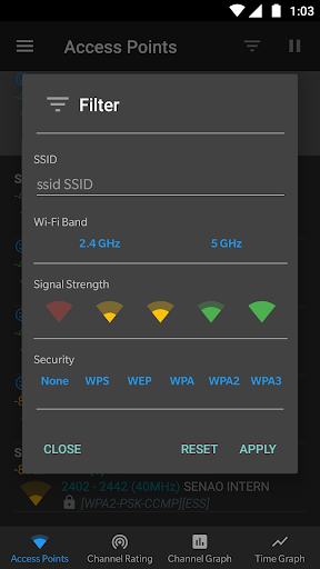WiFi Analyzer (open-source) screenshot 8