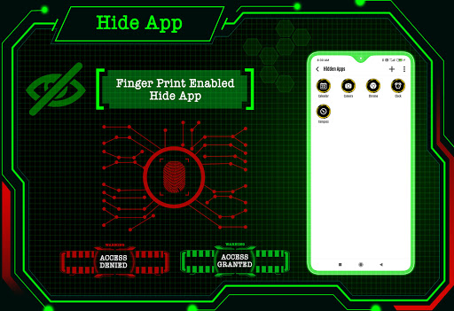 Circuit Launcher 2021 App lock, Hitech Wallpaper 4 تصوير الشاشة