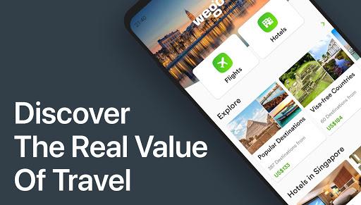 Wego Flights, Hotels, Travel Deals Booking App screenshot 1