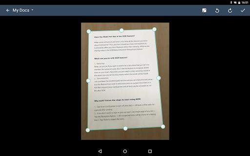 CamScanner - Scanner to scan PDF screenshot 15