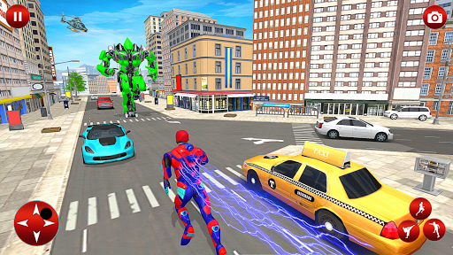 Superhero Robot Speed: Super Hero Game screenshot 5