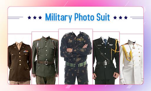 Military Photo Suit 1 تصوير الشاشة