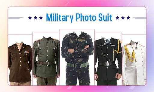 Military Photo Suit screenshot 1