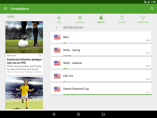 BeSoccer - Soccer Live Score screenshot 14