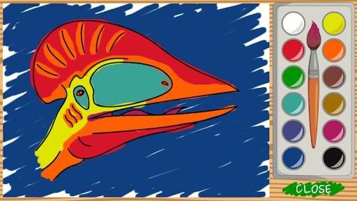 Dino paint screenshot 2