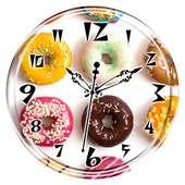Donut Clock Live Wallpaper on 9Apps