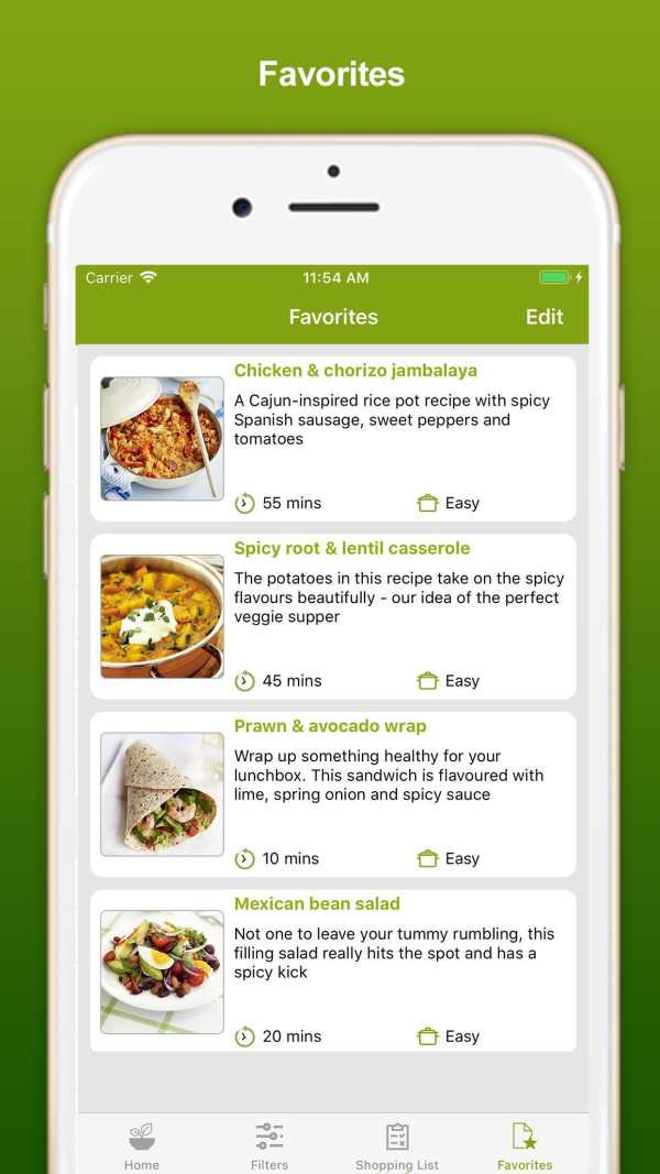 Healthy Eating Recipes screenshot 4