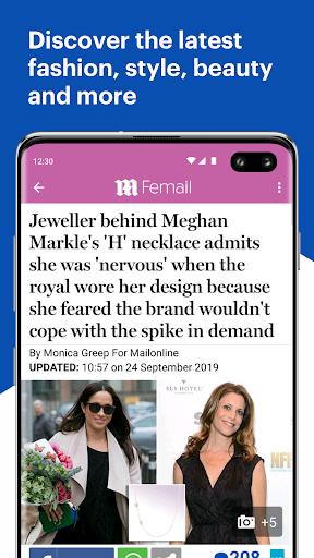 Daily Mail Online 4 تصوير الشاشة