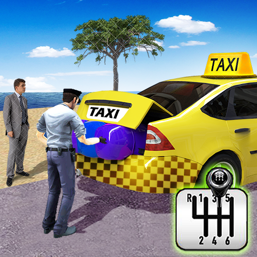 City Taxi Driving simulator: PVP Cab Games 2020 icon
