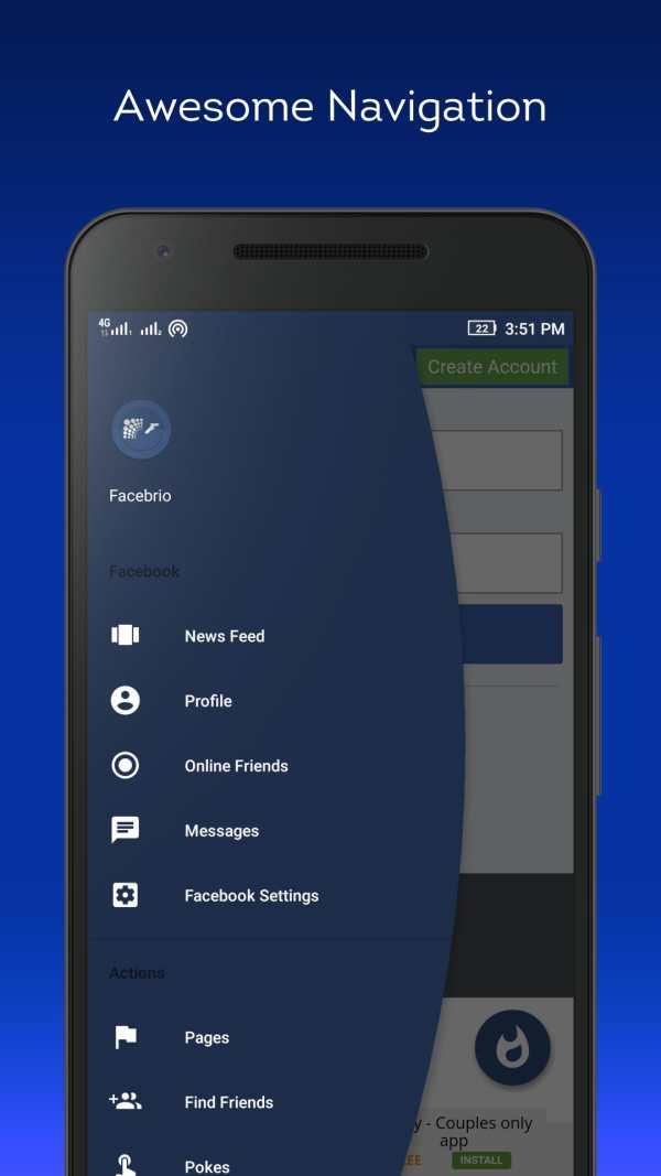 Fast for Facebook Lite- Facebrio screenshot 3