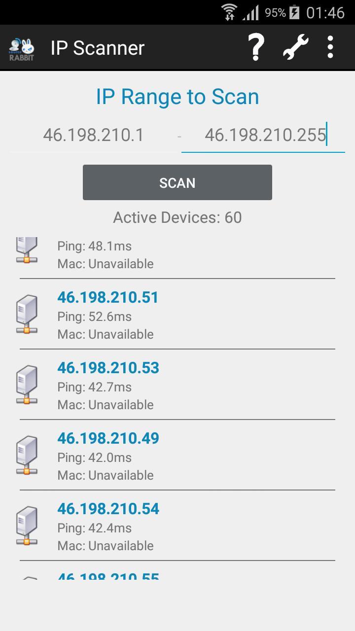 IP Scanner 2 تصوير الشاشة