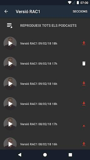 Podcasts RAC1 - No Oficial screenshot 2