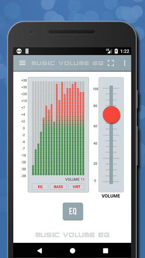 Music Volume EQ — Equalizer Bass Booster Amplifier 3 تصوير الشاشة