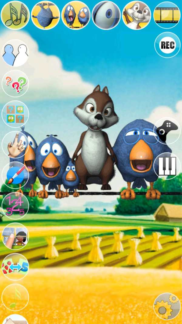 Talking Birds On A Wire screenshot 13
